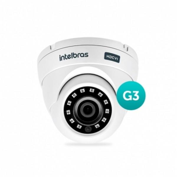 Câmera Dome Multi Hd Vhd 3120 D com Infravermelho Lente 2.8mm G3 Intelbras