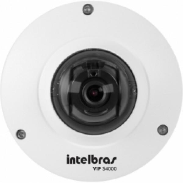 Câmera Dome Ip Vip S4000 1 Megapixel Infra 20m Intelbras