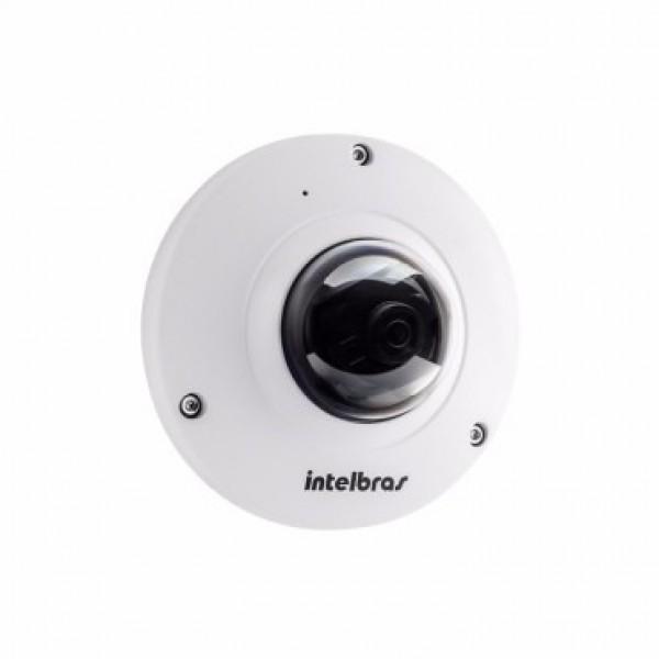 Câmera Fisheye Ip Vip e6400 4.0Mp Lente 1.18mm Poe Intelbras